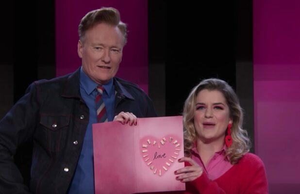Conan Learns How to Make Valentine's Day Cards Out of Human Teeth (Video)