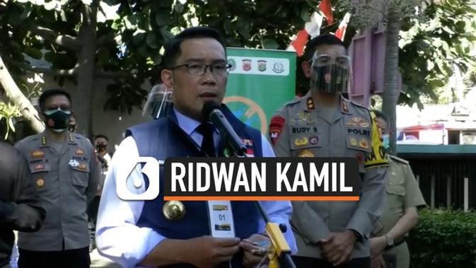 VIDEO: Ridwan Kamil Mulai Jalani Uji Klinis Relawan Vaksin Covid-19