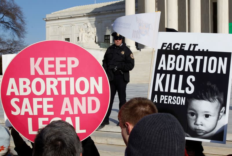 Supreme Court's Roe v. Wade decision hinged on women's right to privacy