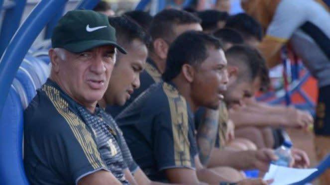 Pelatih Arema FC Mario Gomez.