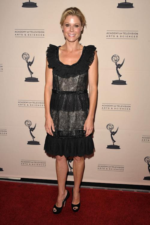 "FILE - In this Aug. 20, 2012 file photo, actress Julie Bowen attends the Academy of Television Arts and Sciences' Performers Peer Group Reception at the Sheraton Universal Hotel, in Los Angeles. Bowen, a 2012 Emmy nominee, said that performing on ""Dynasty"" would be a dream role for her. (Photo by John Shearer/Invision/AP, File)"