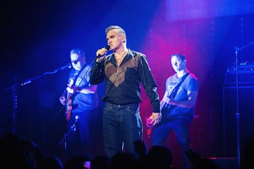 Morrissey Releasing Concert Film of Hollywood High Performance