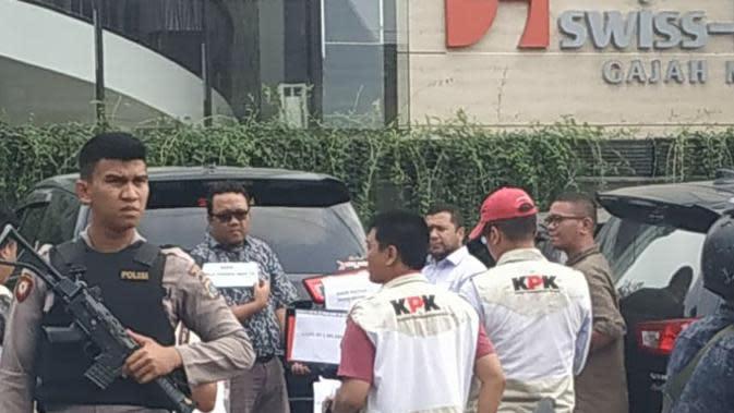 KPK Gelar Rekonstruksi Kasus Suap Wali Kota Medan Nonaktif Tengku Dzulmi Edin