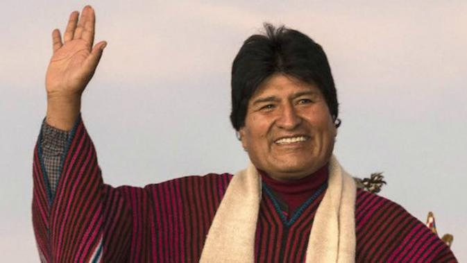 Evo Morales. (Sumber vice.com)