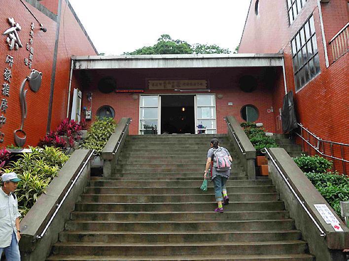 茶展中心步道