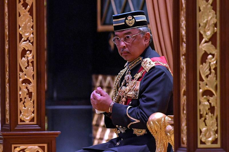 Yang di-Pertuan Agong Al-Sultan Abdullah Ri'ayatuddin Al-Mustafa Billah Shah also suffered from food poisoning, but is recuperating and has been advised to remain in the IJN for close supervision on his health condition and for further follow-up treatment. — Bernama pic