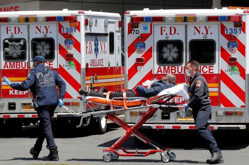 COVID-19 AS: 1.528.235 kasus dengan 91.664 kematian