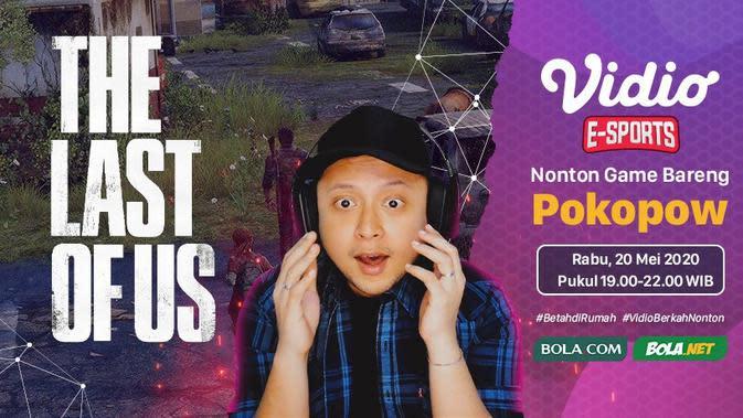 Jadwal Live Streaming Nonton Game Bareng Pokopow, Rabu 20 Mei 2020