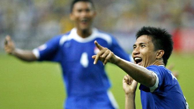 Mantan pemain tim nasional Singapura, Noh Alam Shah. (AFP/Tengku Bahar)