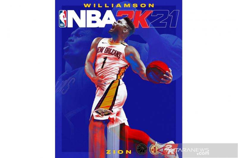 """Zion Williamson jadi """"cover"""" game konsol NBA 2K21"""