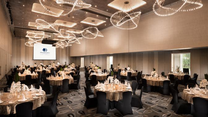 Makara Ballroom di DoubleTree by Hilton Jakarta - Diponegoro. (dok. DoubleTree by Hilton Jakarta - Diponegoro)
