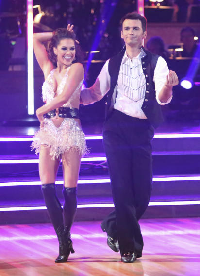 Melissa Rycroft and Tony Dovolani (11/5/12)