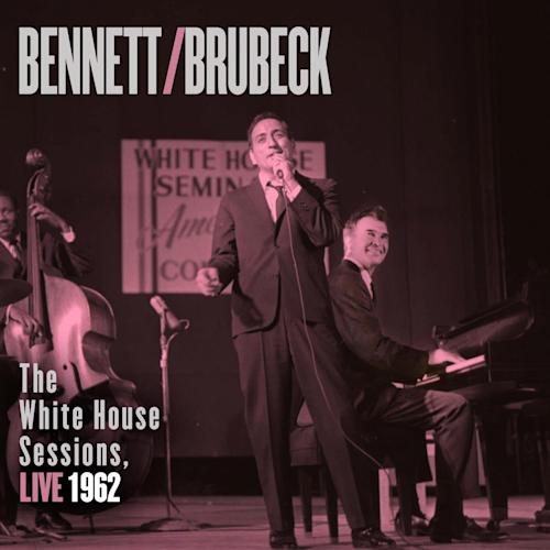 "This CD cover image released by Columbia Legacy shows ""The White House Sessions, Live 1962,"" by Tony Bennett and Dave Brubeck.(AP Photo/Columbia Legacy)"