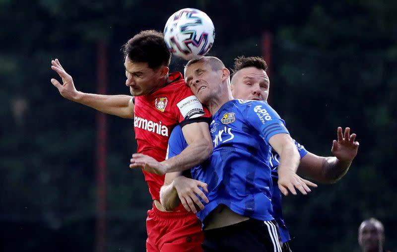 DFB Cup - Semi Final - 1.FC Saarbruecken v Bayer Leverkusen