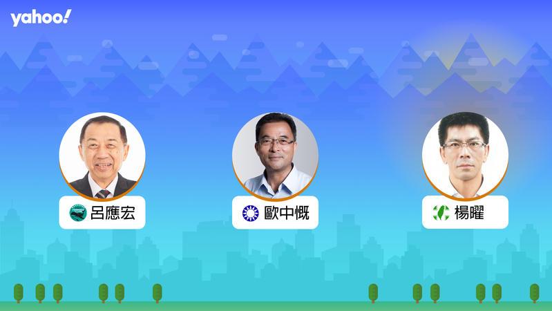 2020立委選舉澎湖縣選區,你支持誰?