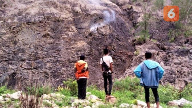 Gemuruh dan Bunyi Letupan Tiap Malam dari Calon Gunung Berapi di Bekas Kali Dilak Belo