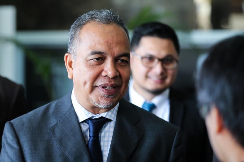 Deputy Finance Minister Datuk Amiruddin Hamzah speaks in Putrajaya July 26, 2018. — Picture by Ahmad Zamzahuri