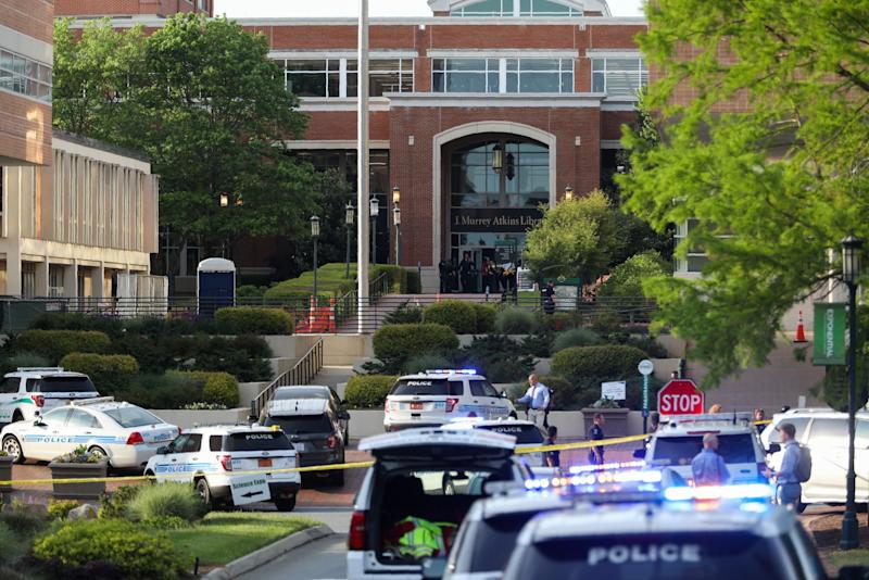2 dead, 4 injured in North Carolina campus shooting