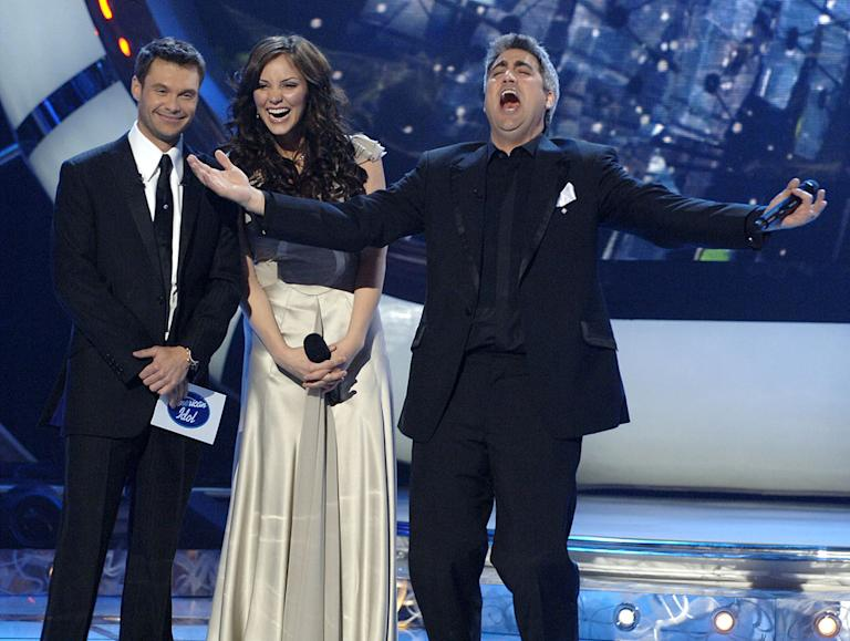 "Taylor Hicks is the winner of season 5 of ""American Idol."""