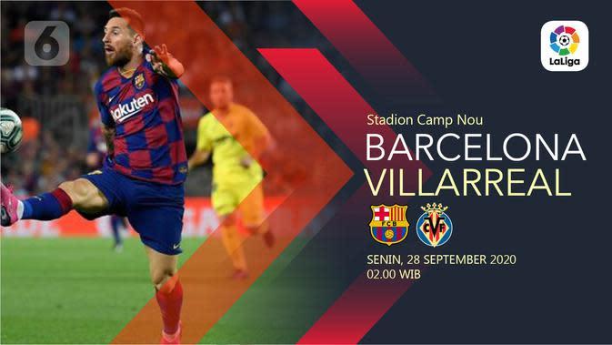 Barcelona vs Villarreal (Liputan6.com/Abdillah)