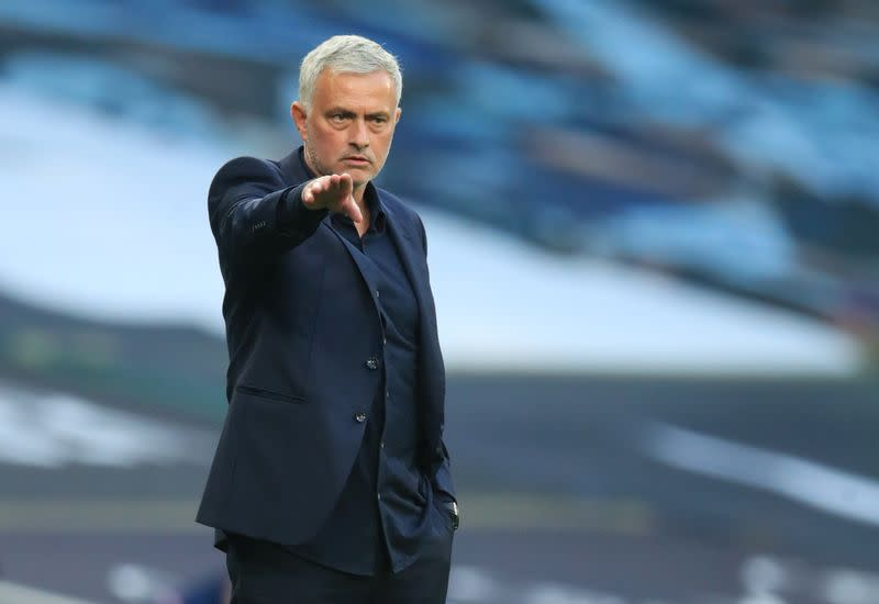 Lazy pressing, bad fitness, says Mourinho after Spurs defeat