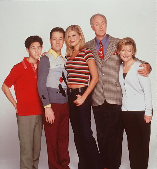 Joseph Gordon Levitt French Stewart Kristen Johnston John Lithgow And Jane Curtin Star In