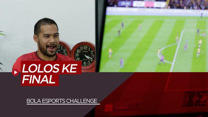 VIDEO: Kalahkan Wakil The Jakmania, Andritany Ardhiyasa Lolos ke Final BOLA Esports Challenge