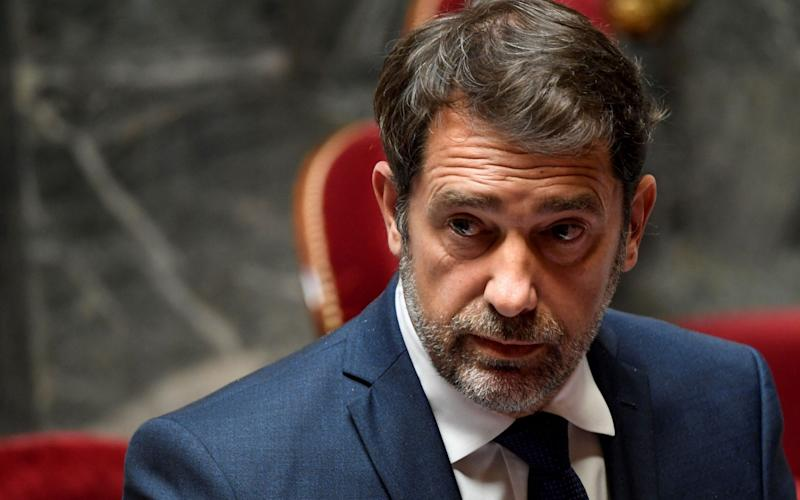 French interior minister Christophe Castaner - BERTRAND GUAY/AFP