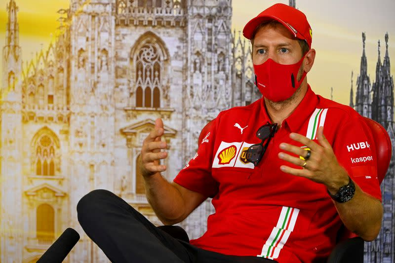 Vettel set to replace Perez at Racing Point