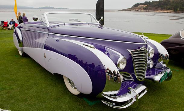 From Allard (and Arnold) to Zagato, the best photos of the 2012 Pebble Beach Concours d'Elegance