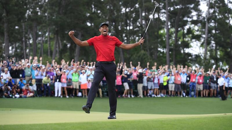 Tiger Woods has win the Masters for the fifth time with a