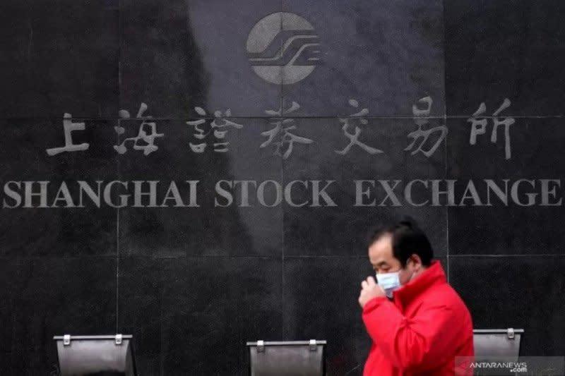 """Saham China """"rebound""""  ditopang data ekonomi positif"""