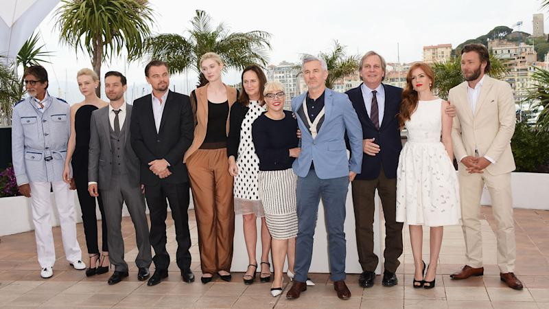 PHOTO: 'The Great Gatsby' Cast and Filmmakers Attend Cannes Press Conference