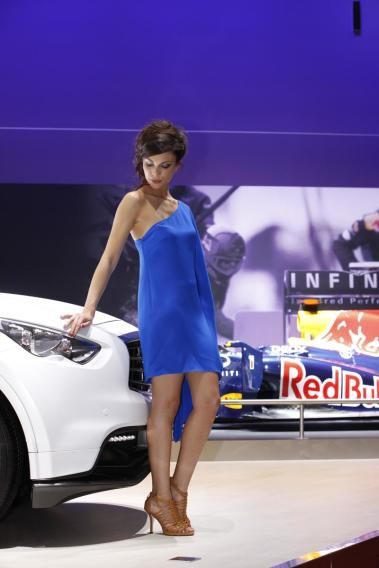 Ladies of the 2012 Geneva Auto Show
