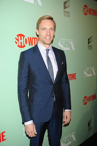 Teddy Sears seen at the premiere screening of MASTERS OF SEX, hosted by SHOWTiME and SONY PICTURES TELEVISION, on Thursday, September 26, 2013 at The Morgan Library and Museum in New York City. (Photo by Scott Gries/Invision for SHOWTIME/AP Images)