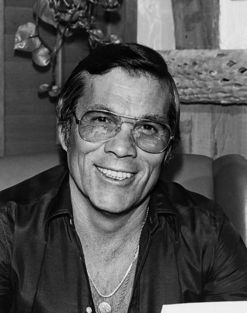 FILE - This 1983 publicity file photo provided by courtesy AMPAS shows stuntman, Hal Needham. Needham, D.A. Pennebaker, George Stevens, Jr., and Jeffrey Katzenberg will accept their Oscar statuettes at the 4th annual Governors Awards from the Academy of Motion Picture Arts and Sciences' Board of Governors at a private ceremony Saturday, Dec. 1, 2012, at the Hollywood and Highland Center, in Los Angeles. (AP Photo/AMPAS)