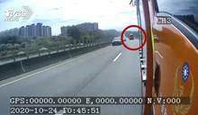 碰!油罐車追撞 尖石消防車翻覆釀2傷