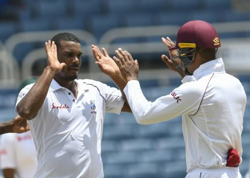 Gabriel made two early breakthroughs for the Windies