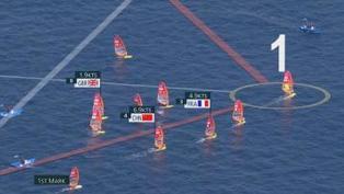 奧運女子滑浪風帆 國家隊盧雲秀摘金