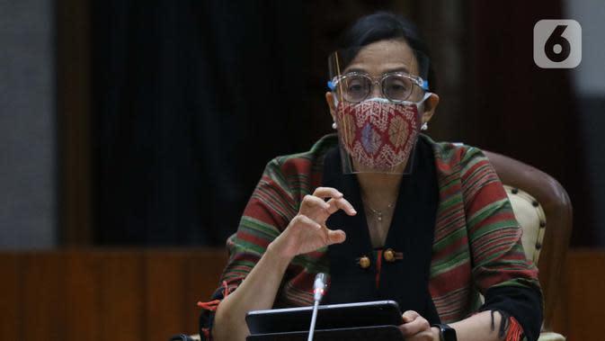 Menteri Keuanga Sri Mulyani Indrawati (Liputan6.com/Helmi Fithriansyah)