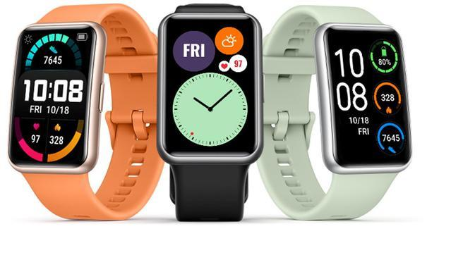 Huawei Watch Fit.