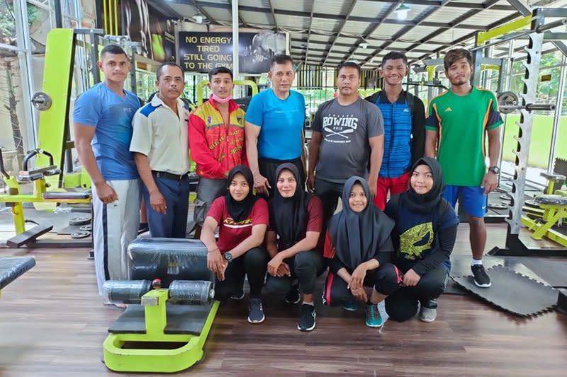 Delapan atlet dayung Aceh bersiap jalani pemusatan latihan PON Papua