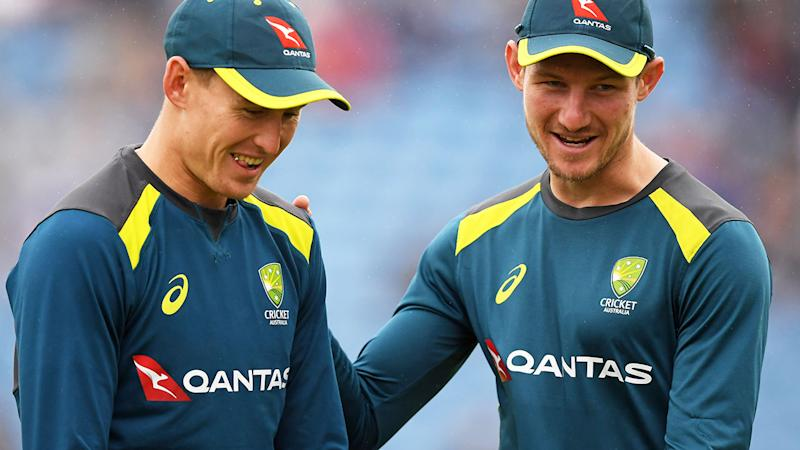 Marnus Labuschagne and Cameron Bancroft, pictured here during the Ashes series.