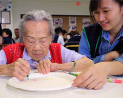 老化與疾病,離家老人不憂鬱