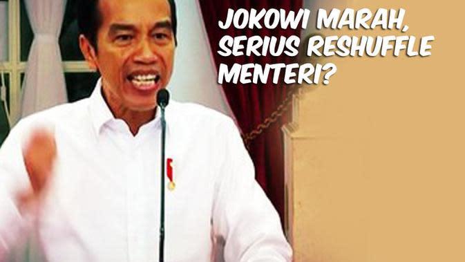 VIDEO: Jokowi Marah, Serius Reshuffle Menteri?