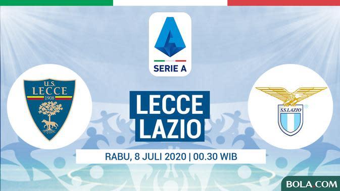 Lazio Tumbang dari Lecce, Saatnya Ucapkan Selamat Tinggal Scudetto?