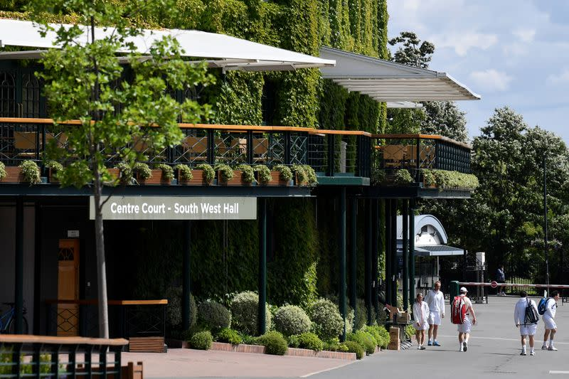 Wimbledon to take place next year even without fans: Times