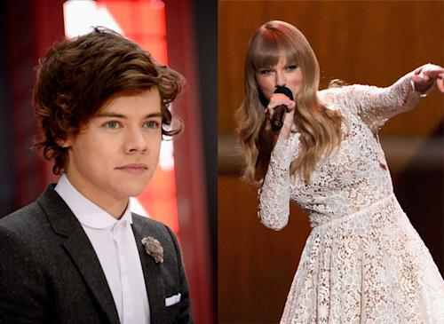 "Harry Styles Tweets That He's ""Falling Asleep"" While Taylor Swift Co-Hosts Grammy Nominations"