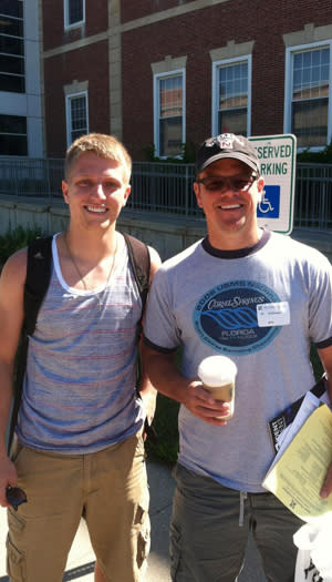 College Orientation Is a Little More Exciting With Matt Damon There