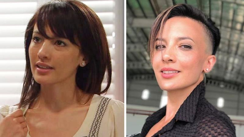 Australian actress Alin Sumarwata on Home and Away in 2009 (L) and now (R). Photo: Channel Seven (L) and Instagram/alinsumarwata (R)